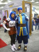 Marth and Caeda by CaliforniaCosplayers