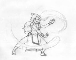 Katara bending by Gasty83