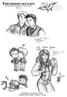 Torchwood-sketchs #2 by k-tiraam