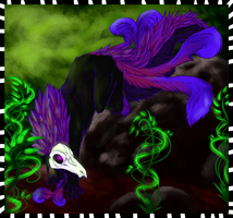 .:Evergree-purple:. by FirestarKozWolf