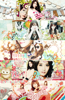 (SNSD cover pack) Happy birthday my love :3 by Luhye