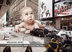 LITTLE BABY IN NY by NeaN