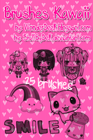 25Brushes Kawaii para tiii by StuffByDelf