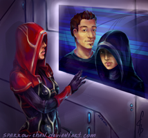Mass Effect: Kasumi Goto's love by sparrow-chan