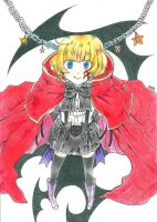 Pandora Hearts : Lily Baskerville by DrawIfAffinity