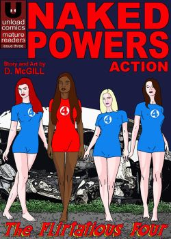 Naked Powers #3 Cover by UnloadComics