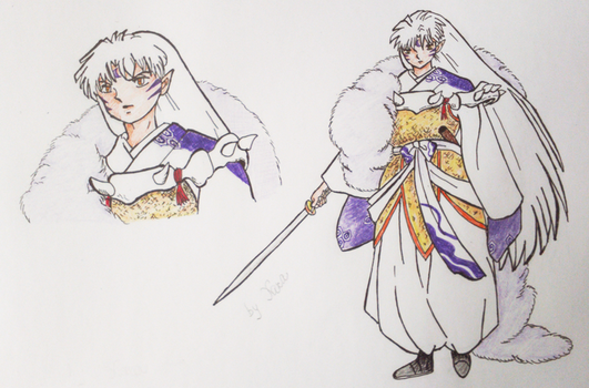Sesshomaru by ZoeLara