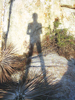 The ShadowMan In The Desert by erwebb