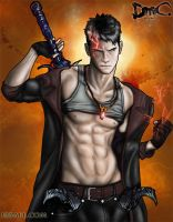 Dante, Son of Sparda by ibrael
