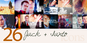 26x Jack+Ianto icons by FirstTimeLady