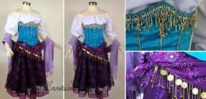 Esmeralda Cosplay Dress Costume by glimmerwood