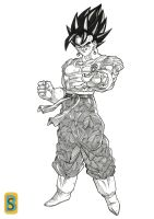 Vegeto -frieza saga- by bloodsplach