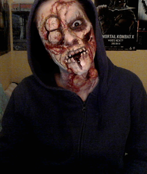 Dying Light inspired makeup by antaale