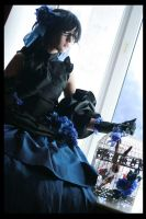 Pandora Hearts - Black Rabbit by megathron
