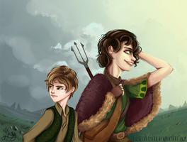 On the way to Winterfell ... by LizbethLizard