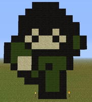 Minecraft - Minicraft Man by Unstable-Life