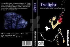Twilight Book Cover Series 1st by KnucklesTheEchidna53