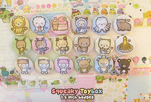 Squeaky Toybox badges by SqueakyToybox
