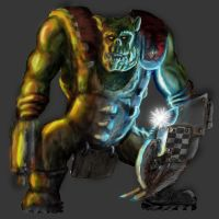 Ork Nob Colored by Terradok