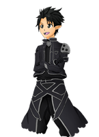 Kirito on Alfheim online by Wayken-Sama