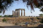 Ancient Corinth - Windy Day by bobswin