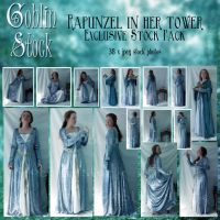 Rapunzel in her tower Pack by GoblinStock