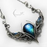 NANTUVILRH - silver and labradorite by LUNARIEEN