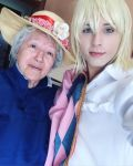 Howl's Moving Castle... Selfie with sophie! by hakucosplay