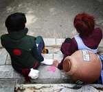 Gaara and Lee 4 - Fanime2015 by eyliuhs