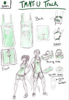 TMNT-U Track and Field Uniform by JBrunes
