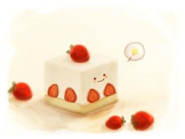 battle of the pastries:alpejka by Megane