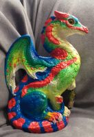 Blue Tailed Day Gecko Windstone Editions Keeper by Eviecats