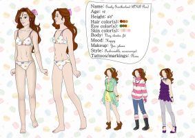 Emily - Reference Picture by DragonLadyZinnia