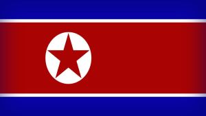 North Korea Flag by Xumarov