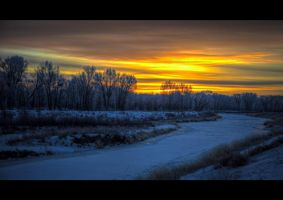 Alamosa Sunrise by dkwynia
