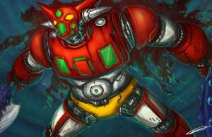 Getter robo  ver.kittyfactory by robokit