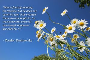 Fyodor Dostoevsky - Man is fond of counting his.. by Leafeo