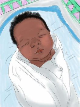 My baby cousin by agec