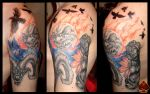 Vlada'sHalfSleeve in progress by DarkArtsColective