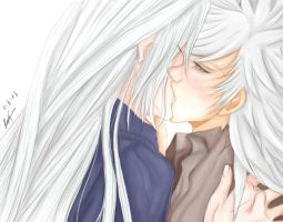 .: SephirothxWeiss [Finished] :. by chinensisXIII