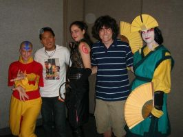 Avatar cosplay + voice actors by gowa