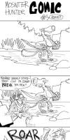 another Monster Hunter Comic by AMBONE105