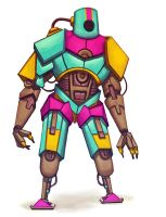 CMYK Bot by Howi3