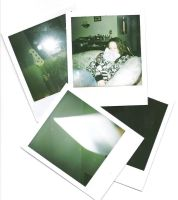 Poloroid Pictures on the Wall by lanoya