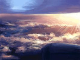 speed painting: clouds by naberus
