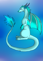 .:gift:. Wafflesthedragons fursona by Letipup