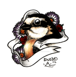 Bird Tattoo Coloured by SpiraxDracowolf