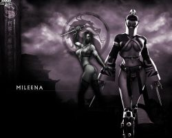 Mortal Kombat Girl: Mileena by Sobies516pl