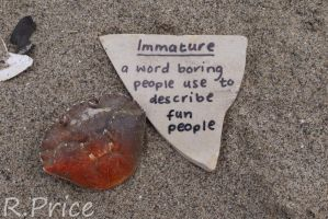 I Would Rather Be Immature by Rhiallom