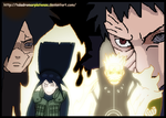 Naruhina vs Madara and Obito by taladromarplatense
